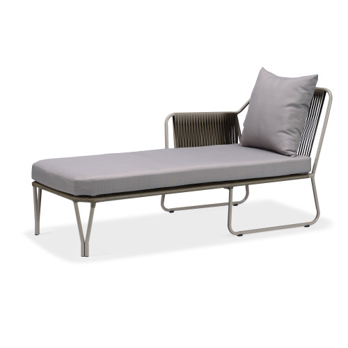 Sun Lounger Wicker Double Sunbed med baldakin