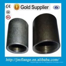 Pezón de tubo de acero al carbono engrasado negro