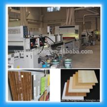 UV-Lackiermaschinen für hochglänzende Melaminplatten / UV-Beschichtungslinie für Möbelplatten / MDF