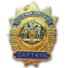 3D Plice Badge New York Police Badge (GZHY-BADGE-012)