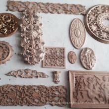 Decoraciones de interior de madera tallada