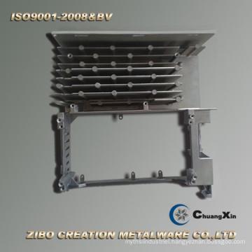 Metal Casting Technology Aluminum Radiator for Servo Motor