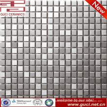 aço inoxidável interior e exterior em mosaico