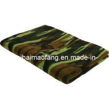 100%Polyester Polar Fleece Army/Military Blanket