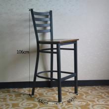 Черный старинные металлические высокий Ресторан Бар стул (СП-LC286)