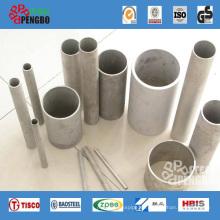 Tubería de acero inoxidable sin costura ASTM A312 / ASTM A213