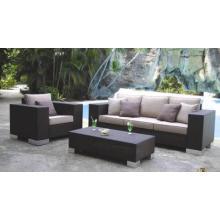 Outdoor Furniture Wicker Sofa Square New Fabric Sets Design