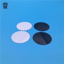 high flatness polish zirconia ceramic wafer