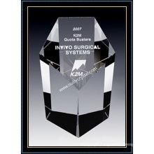 Crystal Obelisk Award Sterling (NU-CW791)