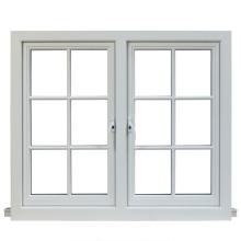 custom White custom glass window casement window with grill design
