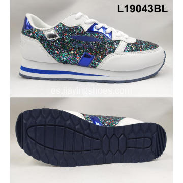 Venta al por mayor Glitter Sneaker Shoes
