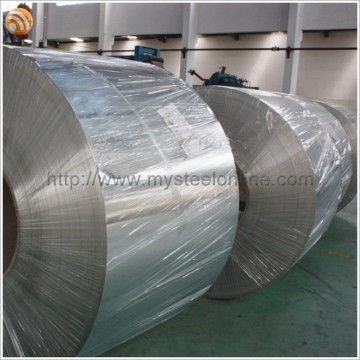 ASTM EN 10202 2.8/2.8 Temper 3 Panits Containers Applied High Quality Electrolytic Tinplate Coil