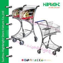 airport luggage trolley with brake