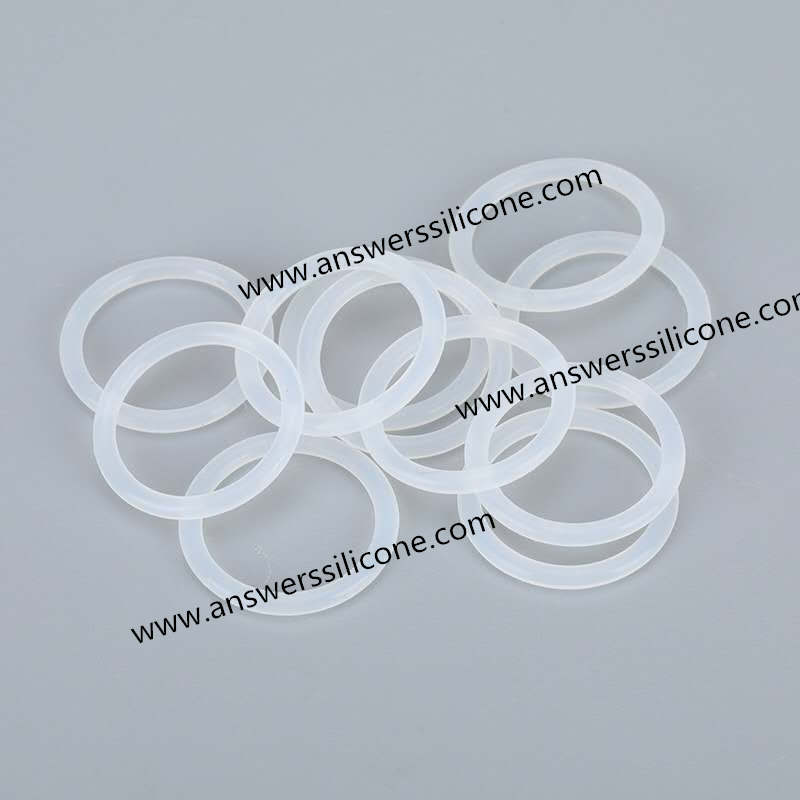 Rubber O Ring Seal white