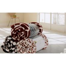 Paradise Style Printed Coral Fleece Blanket, Fleece Blanket