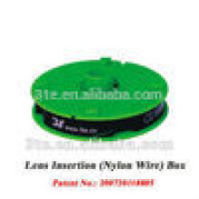 Eyeglass Nylon Wire, Nylon lens insertion for semi-rimless glasses