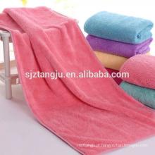 personalizado barato magia rápida seca toalha de lã coral
