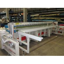 Machine automatique de soudure et de pliage en bout de plastique