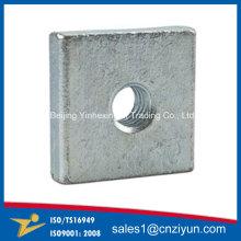 Rondelle filetée en métal de métal OEM