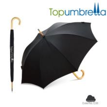 Topumbrella importateurs chinois parapluies noirs à vendre