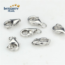 925 Sterling Silver Jewelry Clasp 16mm Big Lobster Clasp Charms