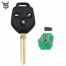Factory price black car remote key 3 button  for Subaru  car remote key with G chip 433 MHZ YS100513