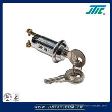 Tubular key lock switch high security