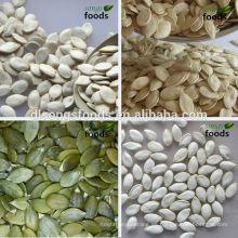 China Semillas de calabaza comestibles crudas