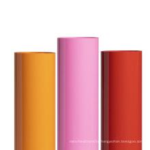 High quality  colors 50cm HTV PVC film heat transfer vinyl rolls for fabric