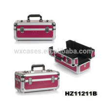 aluminum cosmetic case with trays inside high quality from China manufacturer