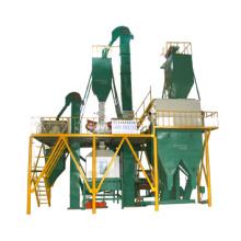 Alimentación de la máquina de molino de pellets, máquina de alimentación, planta de alimentación animal