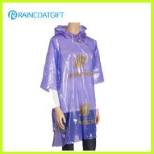 Promotion wiederverwendbare PE Golf Regenbekleidung Rpe-179A