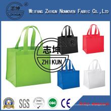 Tissu de non-tissage de PP pour sac à provisions