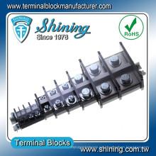 TA-010 Tipo de carril Tipo de montaje 600V Conector de cable D-SUB de 10 amperios
