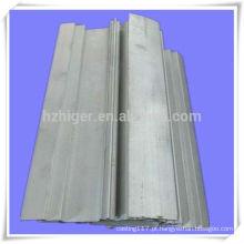 perfil conduzido de alumínio