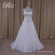 Выход Фабрики Безрукавка Один Плеча Свадебное Платье