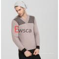 Intarsien-reiner Kaschmir-Pullover der Männer