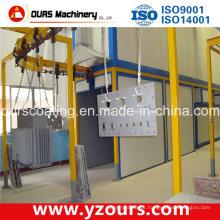 Linha / sistema de pulverização da pintura do GV do CE para exportar