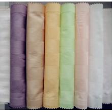 100% algodón teñido de tela para hacer la hoja de cama