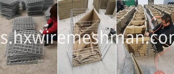welded gabion make