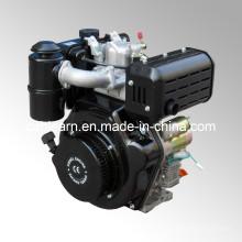 Dieselmotor mit Keilnut und Ölbad Luftfilter (HR186FA)