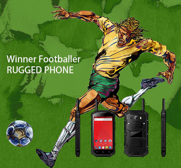 winner Footballer rugged phone