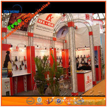 new product attracting art, modular and portable expo display stand ,gold supplier from shanghai