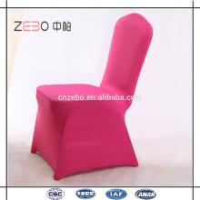 Meilleures ventes de tissu Spandex Coloré Cheap Cheap Linen Chair Covers à Guangzhou