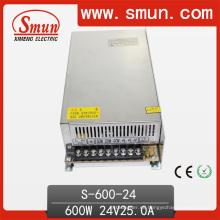 Fuente de alimentación del modo de conmutación 24VDC 25A 600W