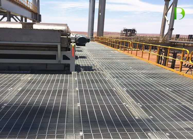 Steel Grating For Walkways