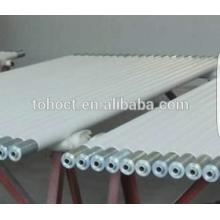Venta caliente de Toho la mejor calidad Tubos de cerámica del tubo del rodillo de la alta temperatura de la alta calidad