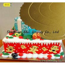2016 venda quente europa moda mini pastelaria placas, bolo de placas com sgs (b & c-k053)