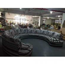 Big U Fabric Sofa, Salon Sofa Furniture, Modern Sofa (NG919)