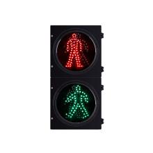 Alta qualidade 200mm Pedestre Vermelho LED Verde Semáforo